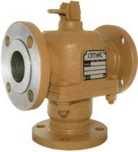 amot Válvulas termostáticas de tres vias autoaccionadas